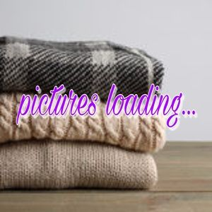 Chunky Knit Gray Scarf